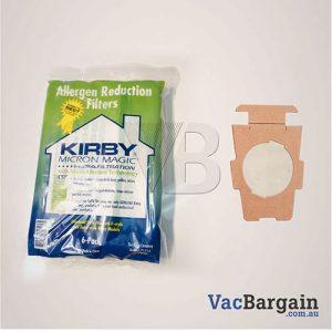 Genuine Kirby Vacuum ALLERGEN disposable bags
