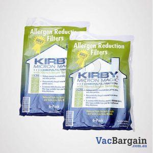 12 Genuine Kirby Vacuum ALLERGEN disposable bags